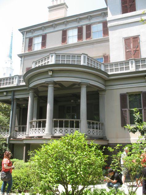 Juliette Gordon Lowe house in Savannah