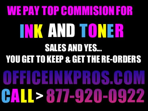 Got Work? Need a Telemarketing Job? Work from home! Must have Ink - telemarketing job description