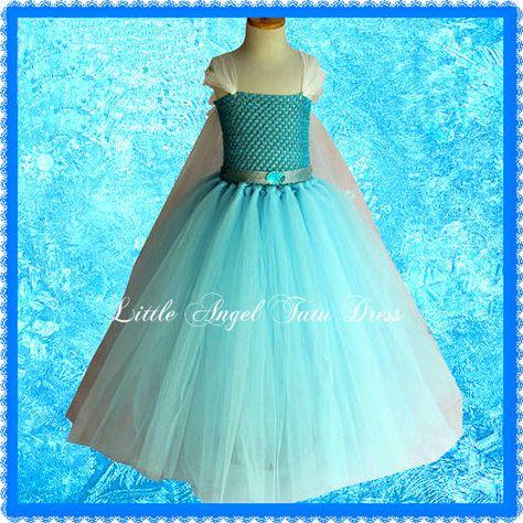 Disney eingefroren Elsa Tutu Kleid Kostüm von LittleAngelTutuDress
