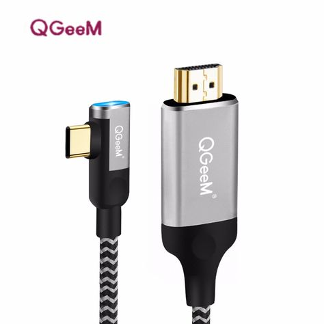 Usb C A Hdmi Cable Adaptador 4 K 1080 P 60hz Usb Tipo C A Hdmi 2 0 Cable Thunderbolt 3 Cable Para Macbook Huawei Mate10 Sumsang S8 Usb Hdmi Cables Macbook