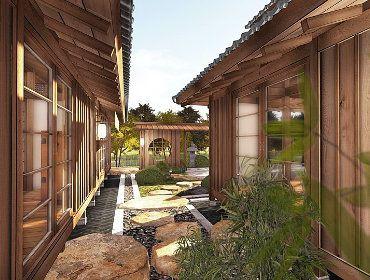 Yokoso Japanese Pavilions In 2020 Pool Houses Backyard Pool Landscaping Japanese Tea House