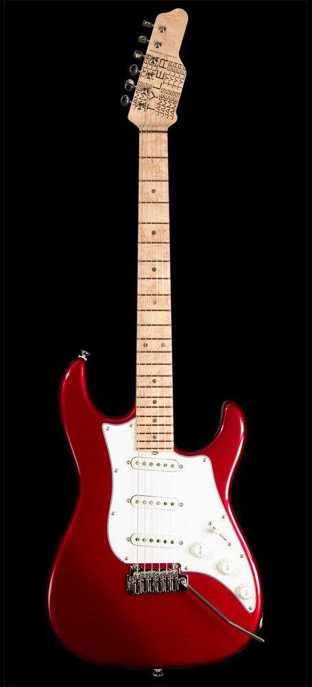 James Tyler Guitars Studio Elite Retro Candy Apple Red Guitar Studio Guitar Retro Candy