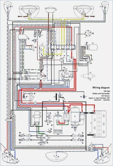 [GJFJ_338]  1973 Vw Bus Alternator Wiring | Electrical diagram, Electrical wiring  diagram, Diagram | Vw Alternator Wiring Diagram |  | Pinterest