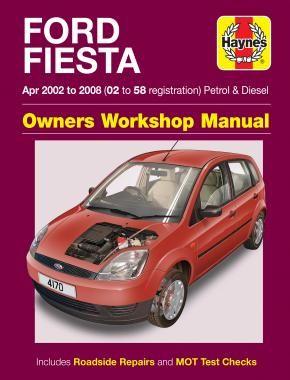 Ford Fiesta 2002 2008 Repair Manuals Ford Fiesta Ford Festiva Ford