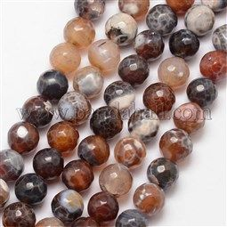 Natural Fire Agate Bead Strands Uk G K166 07f 10mm 11 Agate Fire Agate Bead Strand