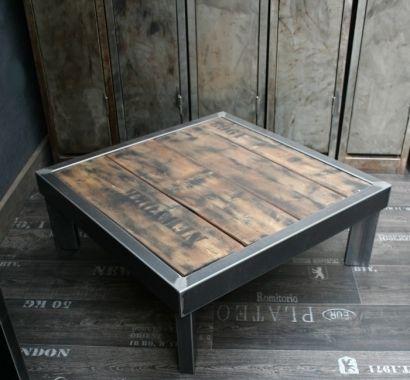 table palette loft salons tables and lofts - Table De Salon En Bois De Palette