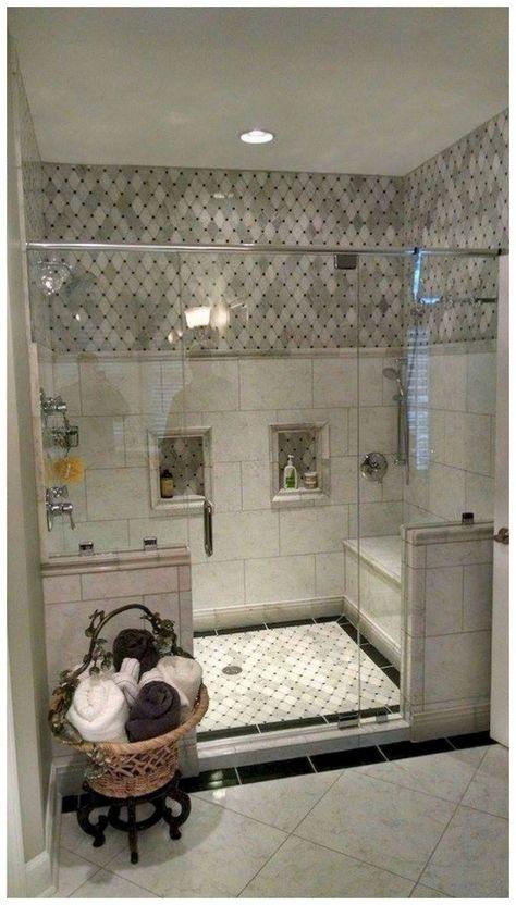 54 Cozy Farmhouse Master Bathroom Remodel Ideas That You See #bathroomremodel #farmhousemasterbathroom #masterbathroom ~ vidur.net