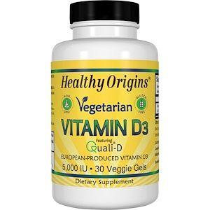 Healthy Origins ベジタリアン ビタミンd3 5 000 Iu ベジゲル30個 Discontinued Item Vitamins For Vegetarians Vitamins For Kids Vitamins