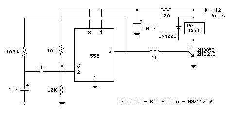 pinterestHow To Build Relay Timer Switch Circuit Diagram #15