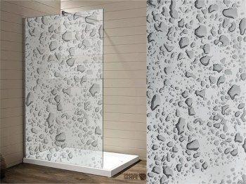 Wasserfeste Folie Fur Die Dusche Bubble Dekor Fenstergestaltung Folie
