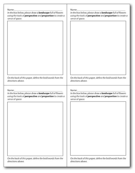 Help your students learn to self-assess and RESPOND to their - artist statement template