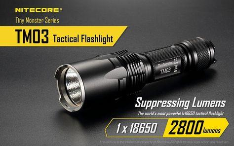 541 Yard Throw NiteCore MH41 2150 Lumen Rechargeable LED Flashlight