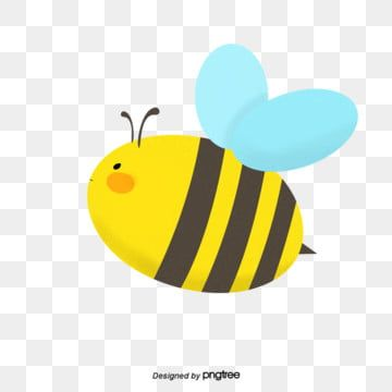 Cute Cartoon Bees Bee Cartoon Lovely Png Transparent Clipart Image And Psd File For Free Download Cartoon Bee Cartoon Clip Art Insect Clipart