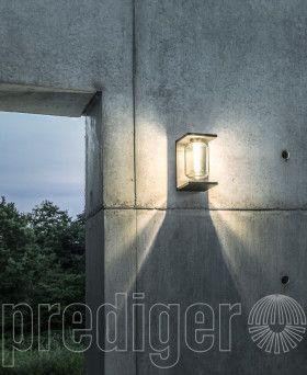 Wand Beleuchtung Garten Weg Außen Terrasse Lampe Leuchte Edelstahl rostfrei NEU