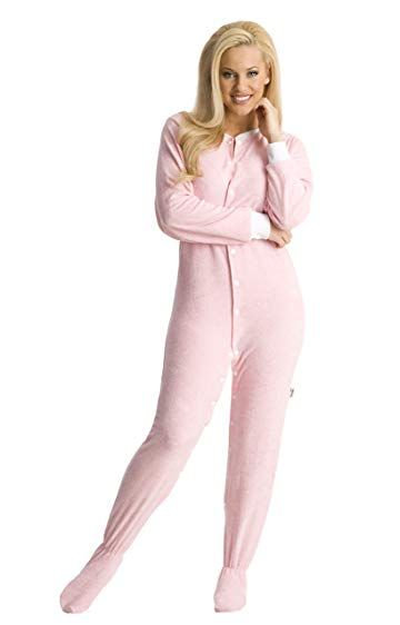 e71b7357a3 ABDL Supply Pink Terry Cloth Adult Footed Onesie Pajamas Review ...
