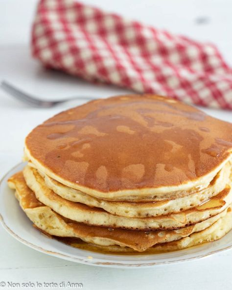 Pancake perfetti velocissimi ricetta dolce goloso | Ricetta pancake