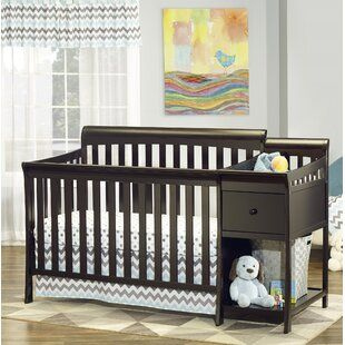 Farmhouse Rustic Cribs Birch Lane In 2020 Convertible Crib Cribs Nursery Furniture Sets