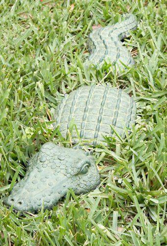 Amazing Large Alligator Bronze Garden Statue | Itu0027s A Gator Life | Pinterest |  Alligators And Bathroom Accessories