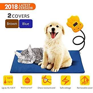 Tonha Pet Heating Pad 15w Indoor Electric Warmer For Dogs Cats Animals Whelping Box Heated Bed War Pet Heating Pad Cat Pet Supplies Dog Supplies Online