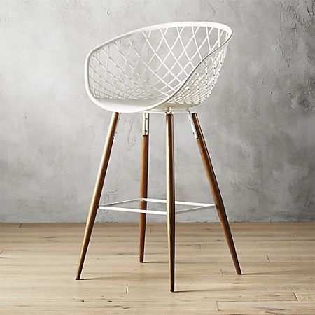 Sidera White Bar Stool 30 Reviews With Images White Bar