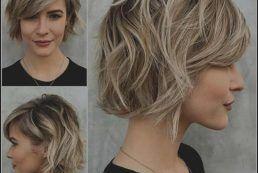 Frisuren halblang 50