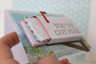mailbox card WOWOWOWOW how cool!