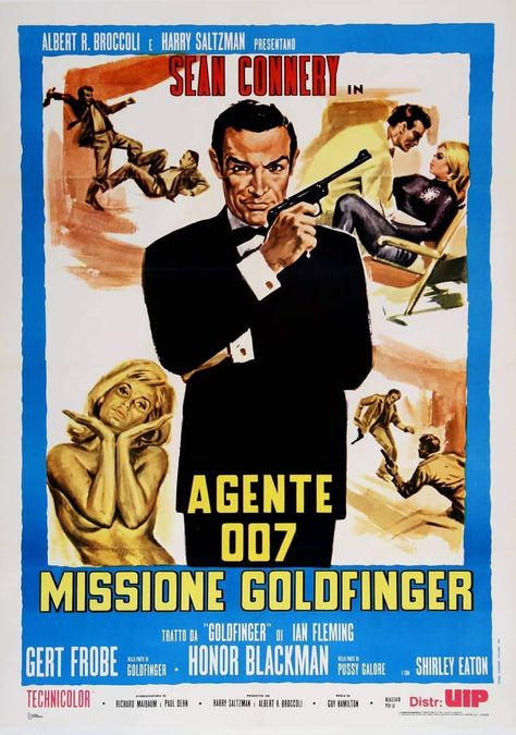 Missione Goldfinger - Re Release - C1975 / 39.5 / 55
