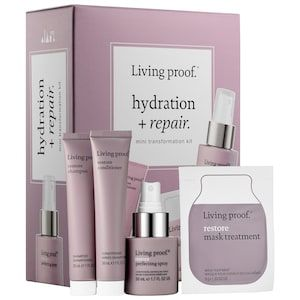 Shop Living Proof S Hydration Repair Mini Transformation Kit At Sephora Living Proof Mask Treatment Sephora