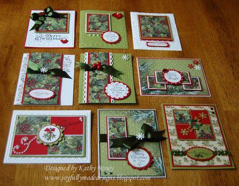 Joyfully Made Designs: Christmas One Sheet Wonder 8 x 8