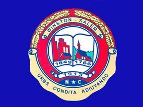 City Of Winston Salem Flag Us State Of North Carolina City Flags Winston Salem Nc Flags Of The World
