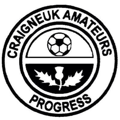 Craigneuk Amateurs Football Logo Team Badge British Football