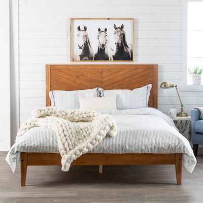 Incorporate Our Solid Pine Wood Queen Bed Into Your Bedroom As This Bed Will Make A Stylish Addition To Your Current R Bed Frame Queen Bed Frame Bed Furniture
