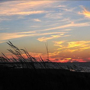 """""""When anxious, uneasy and bad thoughts come, I go to the sea, and the sea drowns them out with its great wide sounds..."""" - Rainer Maria Rilke  (Photo: East Beach, Virginia)"""