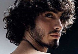 Guys With Long Curly Hair By Admin In Mens Curly Wavy