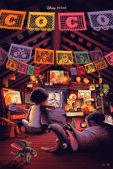 Mondo Gallery Presents: SPIRIT OF ADVENTURE: A Pixar Poster Show!