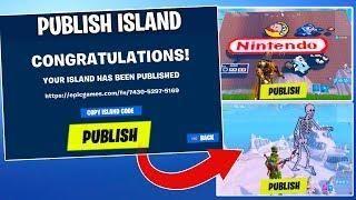 How To Upload Publish Island Codes Worlds In Fortnite Creative Coding Fortnite World Code