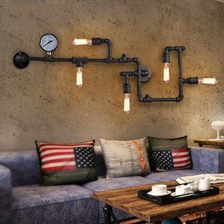 Sophisticated Warm And Rustic Industrial Wall Art Decor Home Wall Art Decor Wall Art Lighting Industrial Wall Art Vintage Industrial Decor
