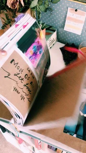 LOOOOOVE this scrapbook flickthrough! So many cute memories.
