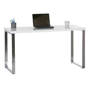 Contour Home Office Study 1400mm High Gloss Desk In 2020 Best Home Office Desk High Gloss Desk Home Office Furniture Desk