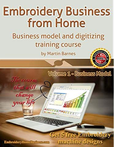 Embroidery Business From Home Business Model And Digitizing Training Course Embroidery Business From Home By Martin Bar Homemade Business Embroidery Business