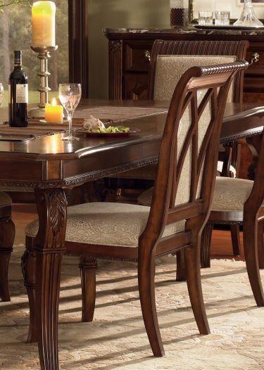 Wynwood Granada 7pc Leg Dining Table, Wynwood Dining Room Sets
