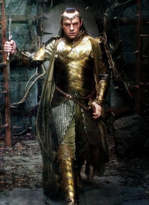 Thranduil: u can't be fabulous lolol nobody can beat my swag- Elrond: *brandishes sword* BRING IT.