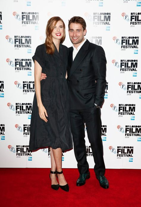Pin for Later: That's a Wrap! See All the Stars Who Ditched Hollywood For the London Film Festival Agyness Deyn and Christian Cooke Agyness and Christian attended the world premiere of Electricity.