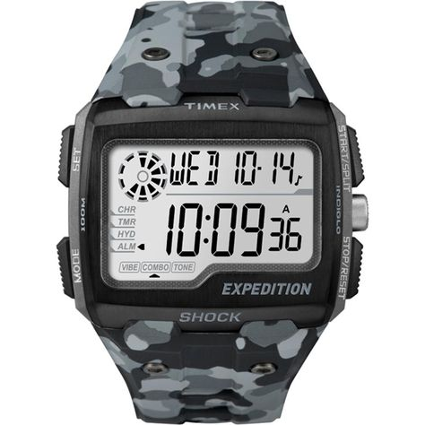 4cd091c20fd3 Timex Expedition Grid Shock - Camo Gray