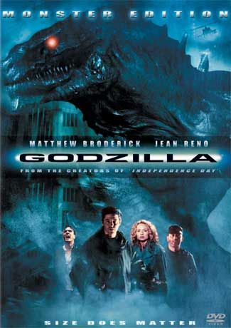 Godzilla (1998) Dual Audio [Hindi-DD5 1] 720p BluRay ESubs