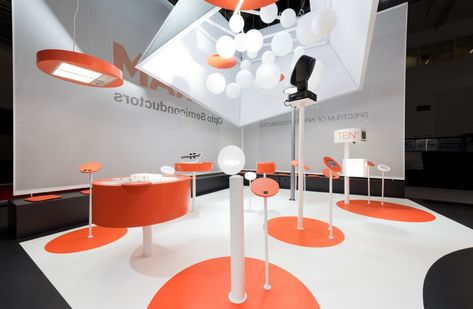 Iconic Design Award 2017 Winner #OSRAM #electronica2016 #Exhibition #Messedesign