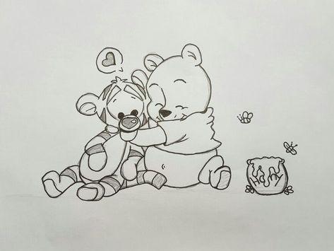 #winniethepooh #art #fun #cute #disney #drawing