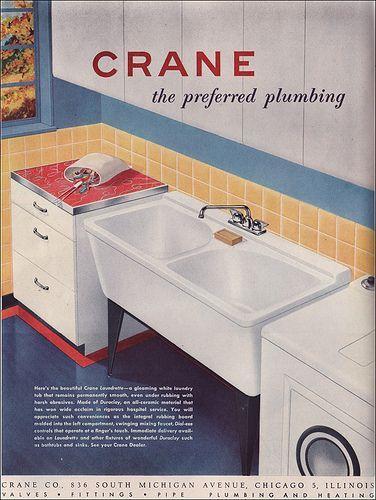 Image result for vintage crane sink ad | Old Housewares and Old ...