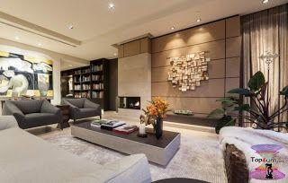 افضل ديكورات جبس اسقف راقيه 2019 Modern Gypsum Board For Walls And Ceilings Decor Interior Design Interior Design Gypsum Board