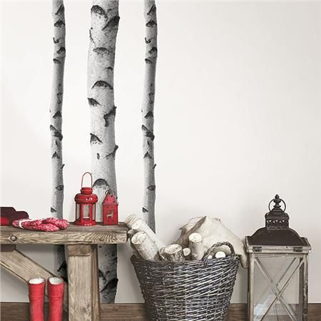 Silver Birches Wall Art Kit Birch Tree Wall Decal Wall Decals